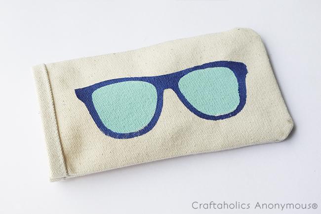summer sunglasses case