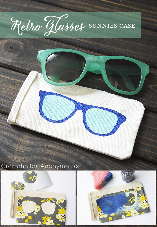 retro sunnies case