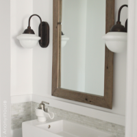 DIY Antiqued Mirror Tutorial