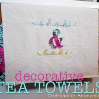 Decorative Tea Towels