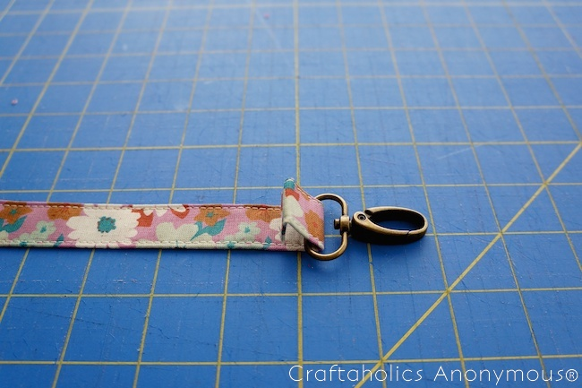 diy key lanyard