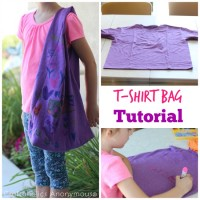Easy T-Shirt Bag Tutorial