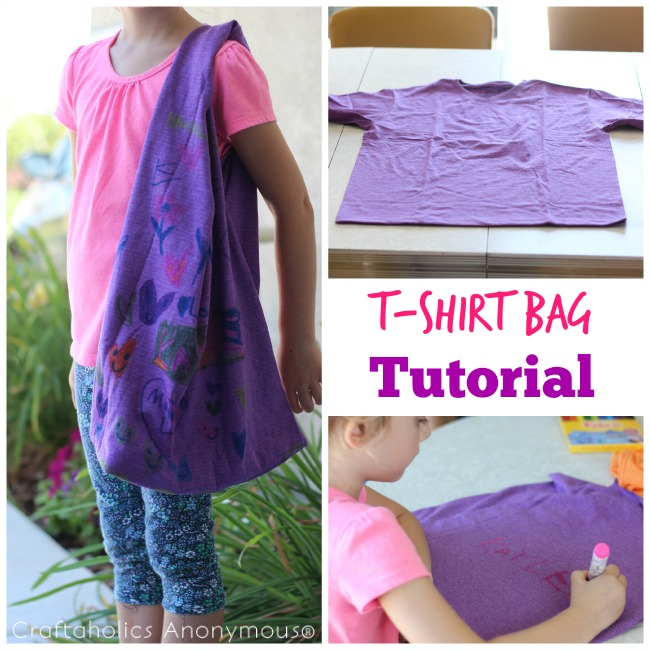 T-Shirt Bag tutorial