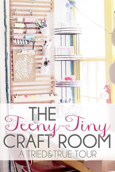 small craft space ideas craftaholics anonymous 174 small craft room tour 5440