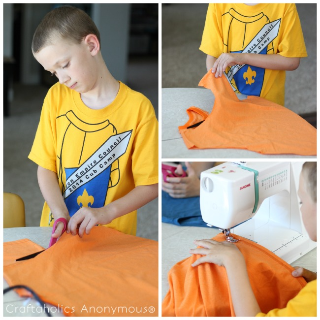 how to make t-shirt bags