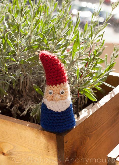 free gnome crochet pattern
