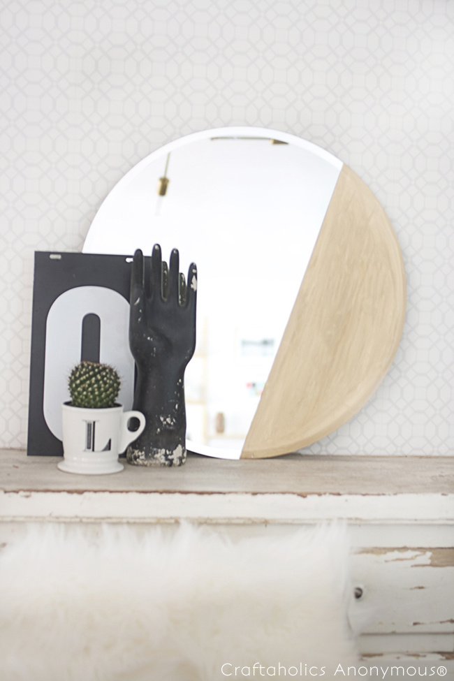 gold dipped mirror