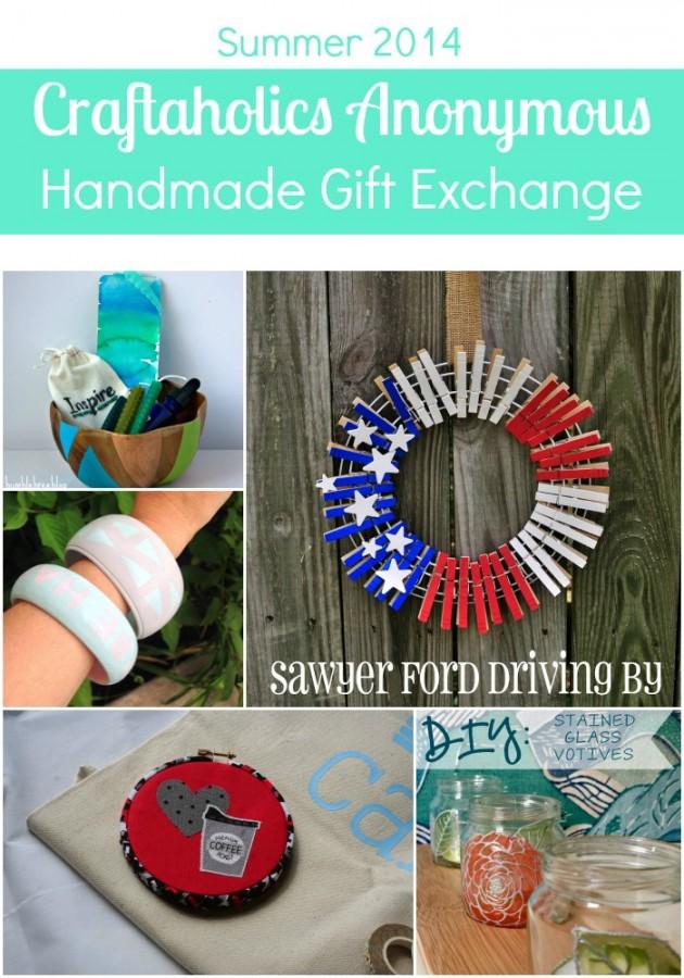 Summer 2014 Handmade Gift Exchange