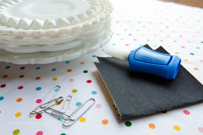 DIY Plate hangers