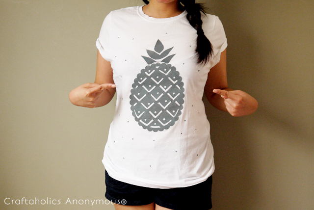 stencil shirt