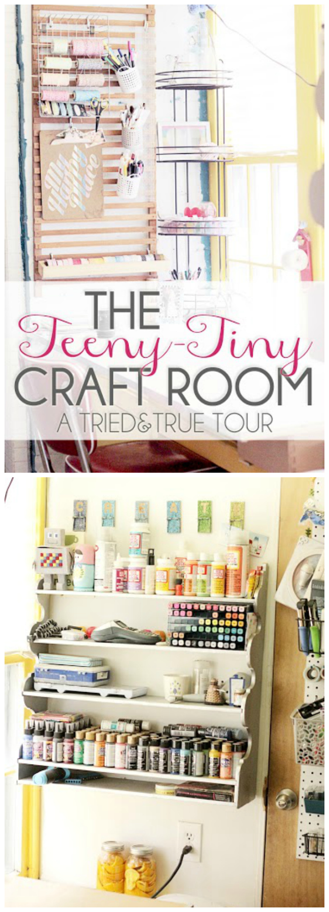 tried and true craft room