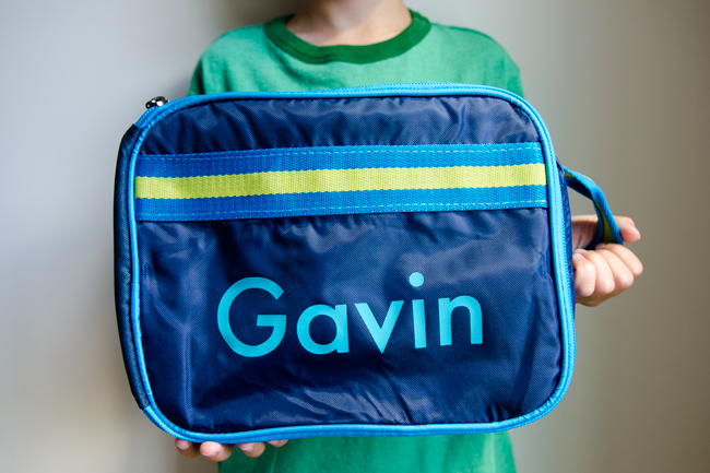 personalized lunchbox using Silhouette Cameo