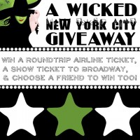 Wicked in NYC giveaway