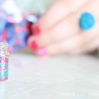 DIY Fairy Dust Necklaces