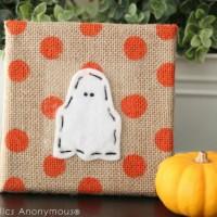 Cute Halloween Craft for kids - Halloween Lacing.