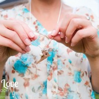 State Love Necklace + Vintage Pearl Giveaway