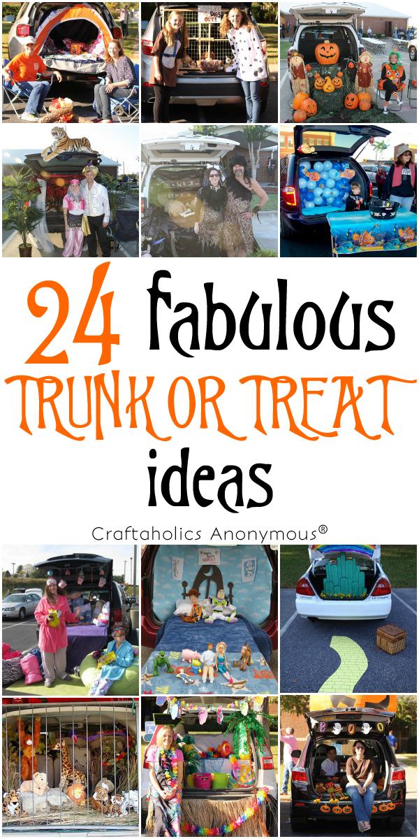 24 Trunk or Treat Ideas