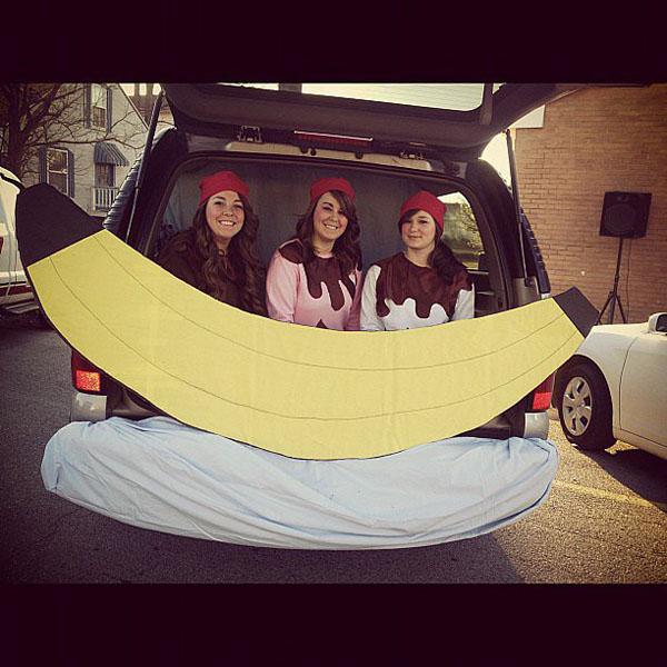 Banana-Split-Trunk