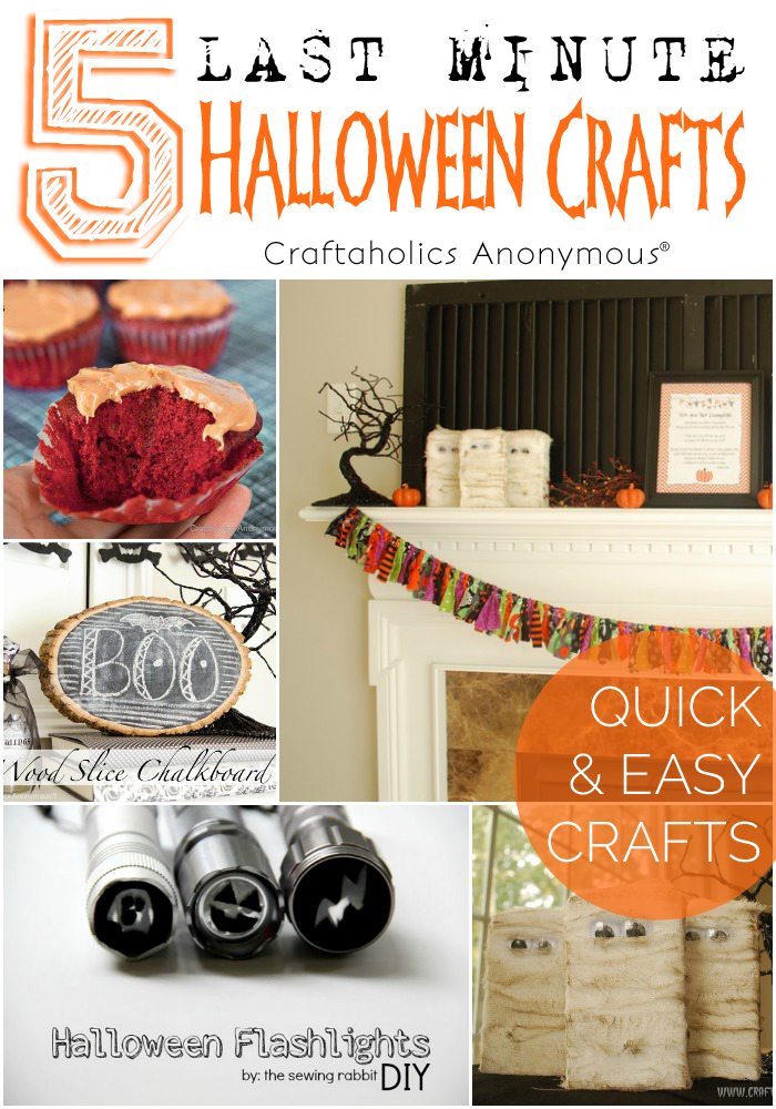 Five Last Minute Halloween Crafts