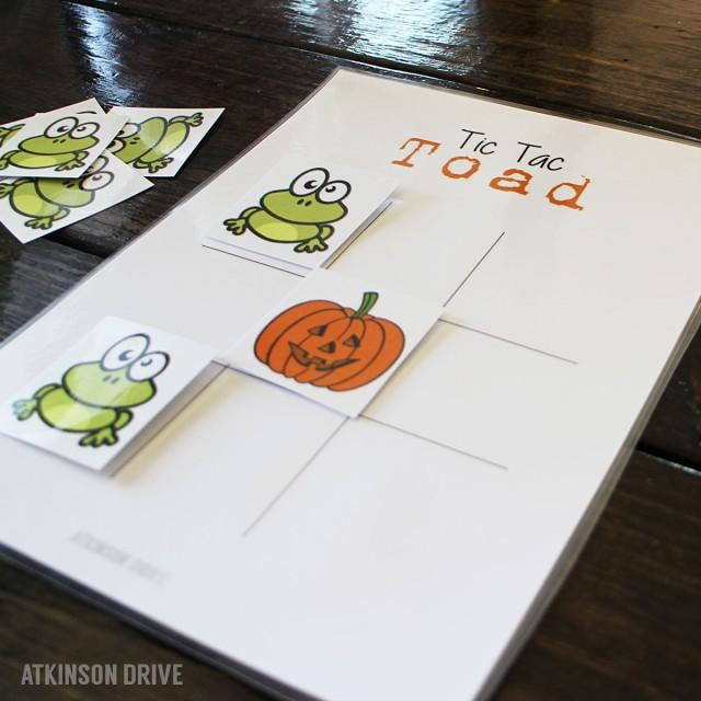 Tic Tac Toad game
