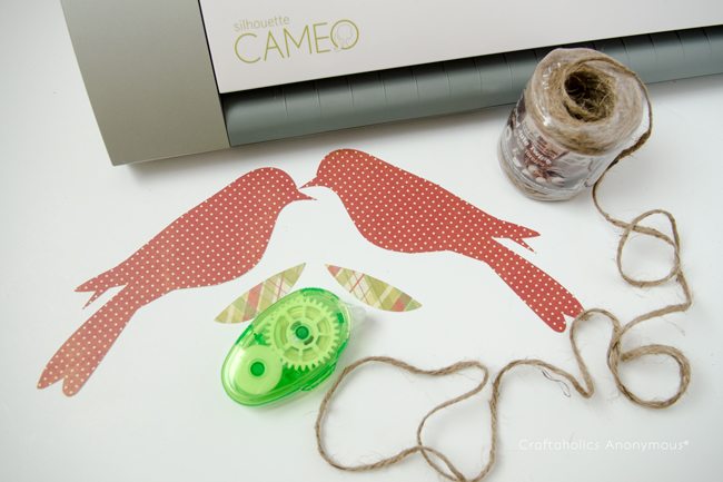 How to make paper Bird Ornaments