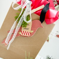 Paper Bird Ornaments / Gift Toppers