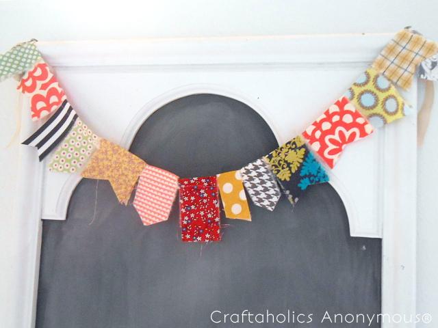 织物花环|聪明的缝纫工程到upcycle织物废料