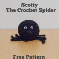Scotty – The Crochet Spider