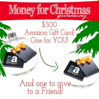 Two $500 Amazon Gift Cards Giveaway!