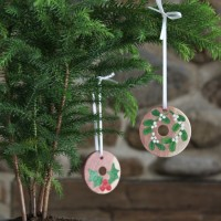 Cedar Ring Ornaments