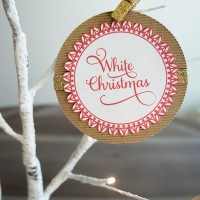 Christmas Song Ornaments || Free Printable