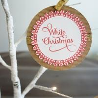 Christmas Song Ornaments || Free Printable