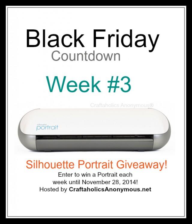 silhouette black friday week3