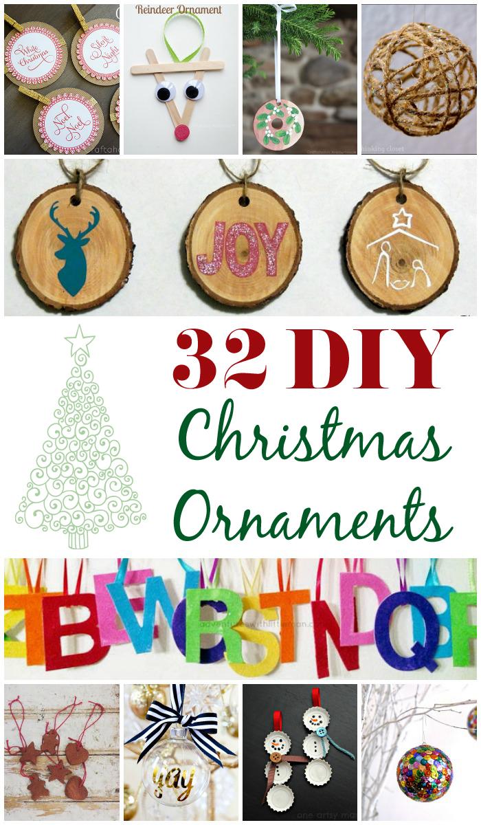 32 DIY Christmas Ornaments