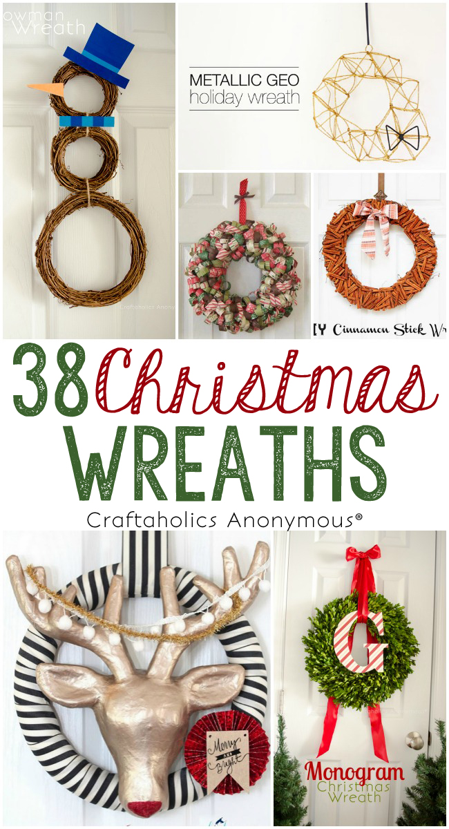 38 DIY Christmas Wreaths