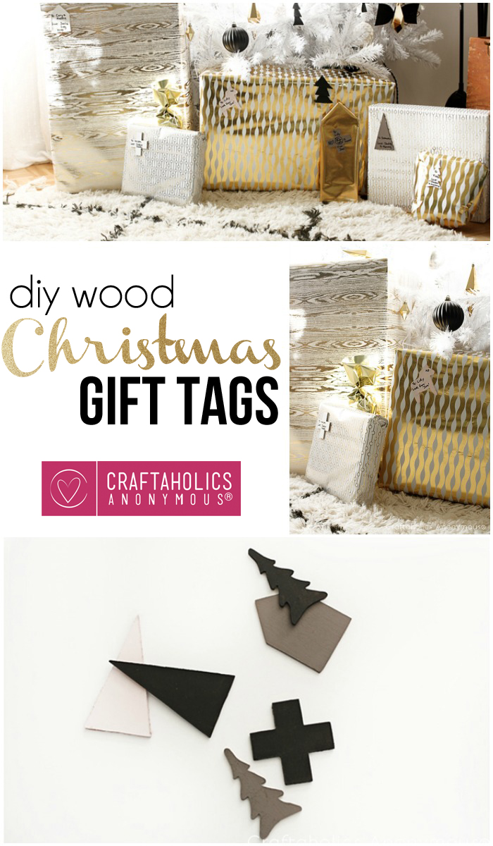 How to make your own Wooden Christmas Tags
