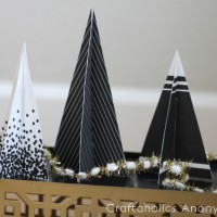 Free Printable 3D Christmas Trees