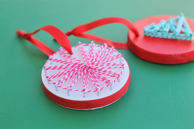 string art ornament
