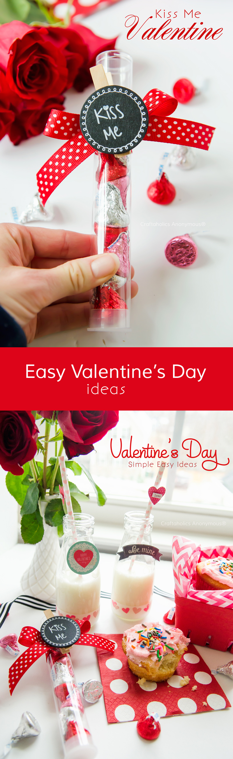 Easy Valentine Ideas that can be done quickly and on a small budget #OneSpotValentine