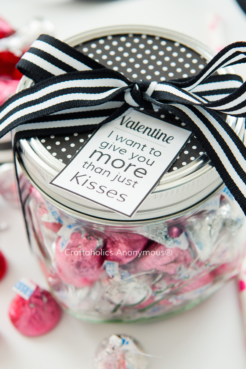 Free Valentine Printable || Sweetly romantic tag