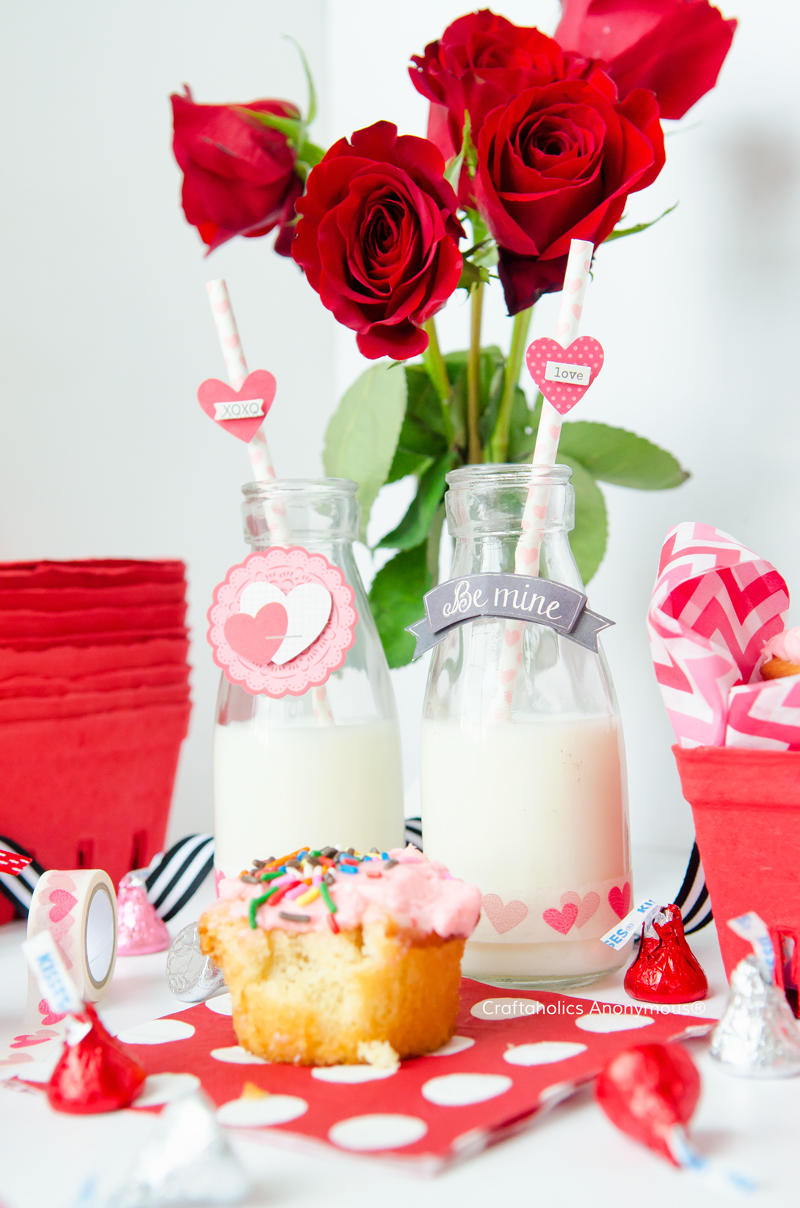 Cute Valentine ideas that can be done quick and on a budget!