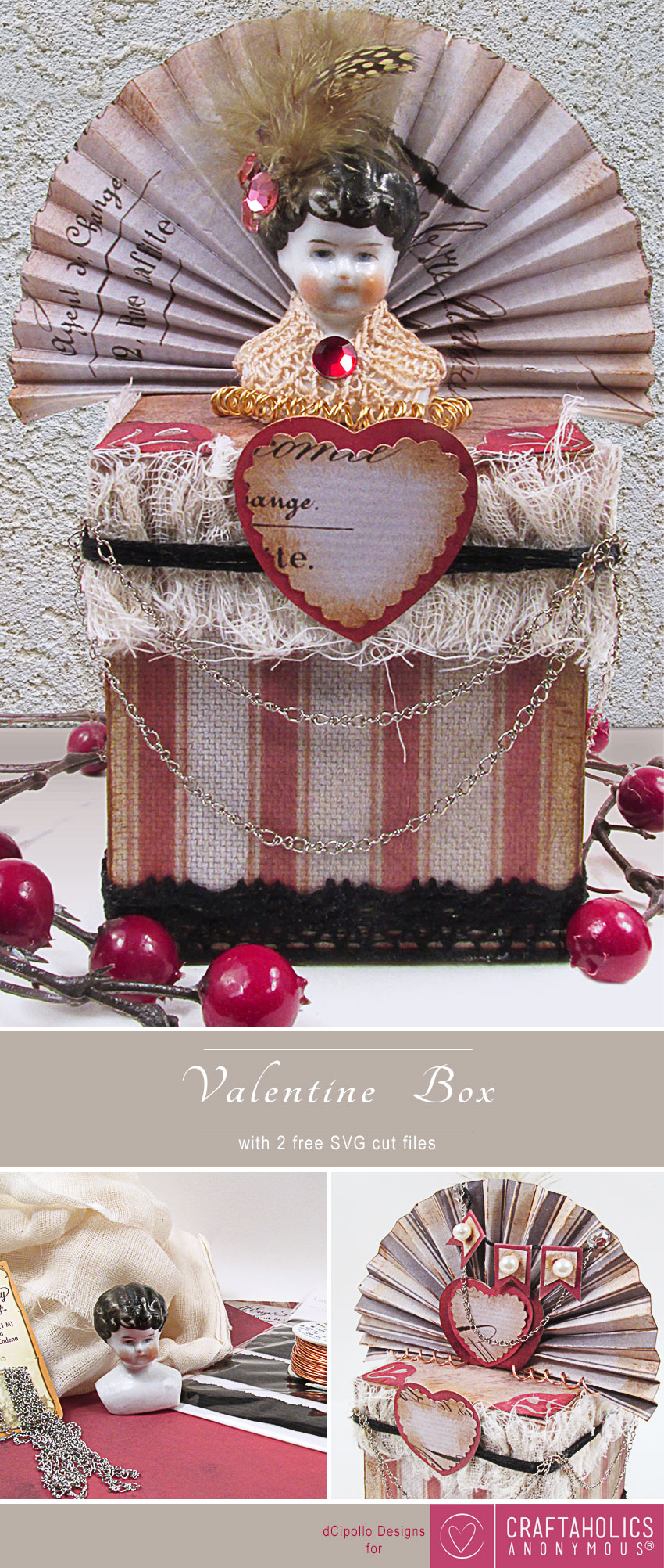 Valentine Box Pinterest dCipollo Designs