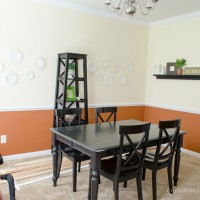 Dining Room Makeover: How to Remove Trim