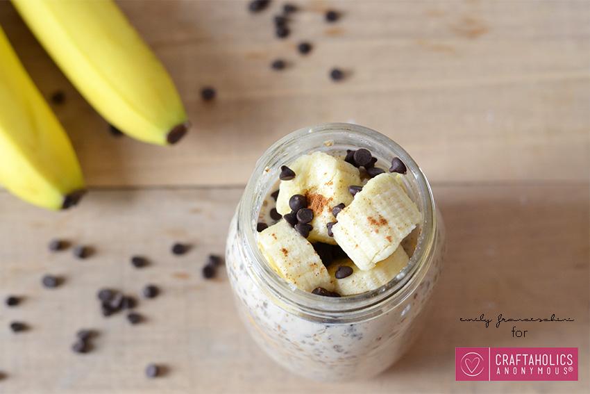 banana overnight oats recipe