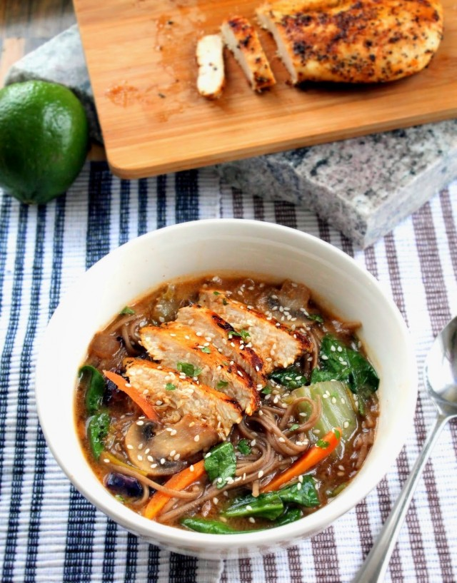 CHicken Soba Noodle Bowl