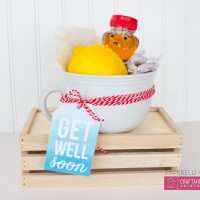 Get Well Soon Printable + Gift Idea