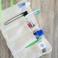 DIY Washcloth Travel Kit