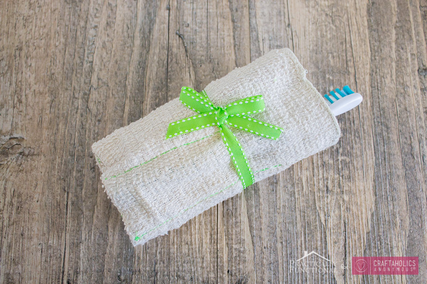 Washcloth travel kit-8