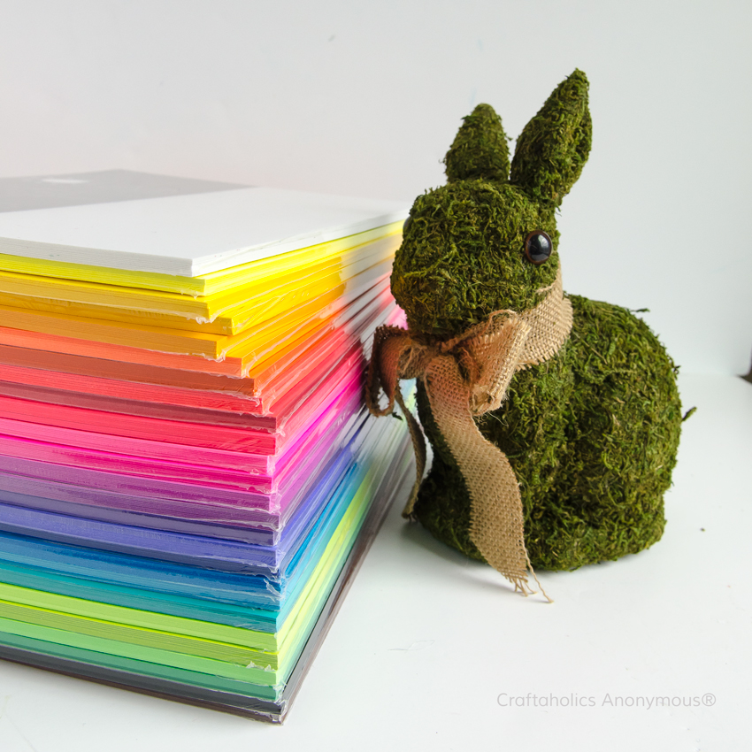 Rainbow of vibrant colored ASTROBRIGHT® papers