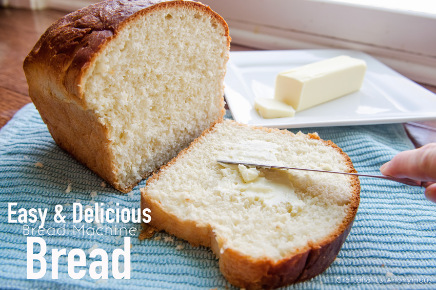 Easy Bread Machine Bread Recipe || Sounds and look amazing! Homemade bread the easy way.
